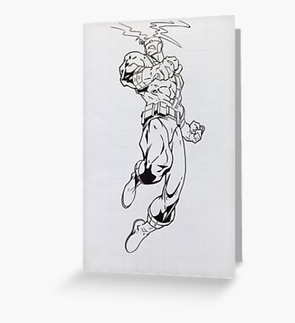 Cyclops - Painting Greeting Card