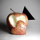 an apples heart by Cara Johnson