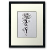 Jean Grey - Painting Framed Print