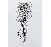 Jean Grey - Painting Photographic Print