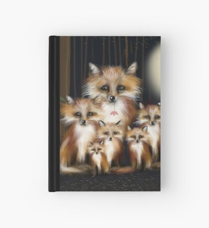 Fox Family Hardcover Journal