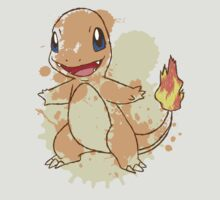 Charmander Splatter T-Shirt
