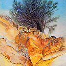 Painted Cliffs by melhillswildart