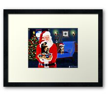 Who Ordered That Dog?! Framed Print