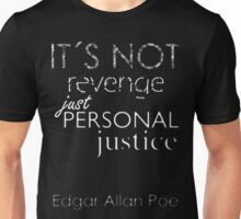 It´s Not Personal! -White Letters Unisex T-Shirt