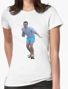 Filthy Frank Skateboarding Womens Fitted T-Shirt