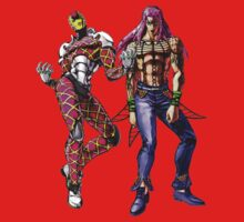 JoJo's Bizarre Adventure - Diavolo and King Crimson by Ushiromiya