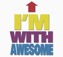 I'm with awesome by digerati