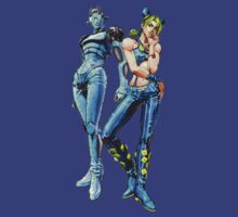 JoJo's Bizarre Adventure - Jolyne Kujo and Stone Free by Ushiromiya