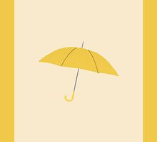 Yellow Umbrella by funjolras