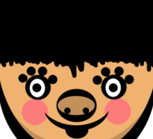 Fluff Sticker