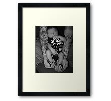 Tattooed with Sylas Framed Print