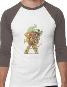 ChewyDinosaur Adventurer Men's Baseball ¾ T-Shirt