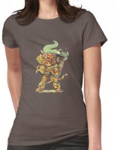 ChewyDinosaur Adventurer Womens Fitted T-Shirt