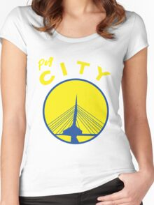 The City Women's Fitted Scoop T-Shirt