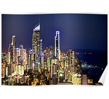 Gold Coast Aerial Poster