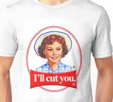 Little debbie-I'll cut you Unisex T-Shirt