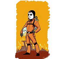 Standard Space Hero by Oatmal