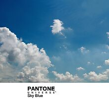 Real Life Pantone: Sky Blue by coffeespoon