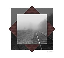 D Train to Oblivion Photographic Print