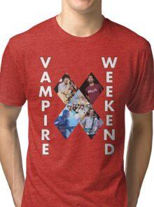 Vampire Weekend Collage Tri-blend T-Shirt