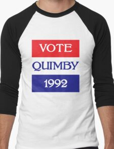 Vote for Quimby Men's Baseball ¾ T-Shirt