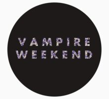 Violet Floral Vampire Weekend by raimy
