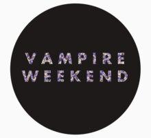 Violet Floral Vampire Weekend by raimy