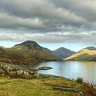 Wastwater And Fells by Jamie  Green