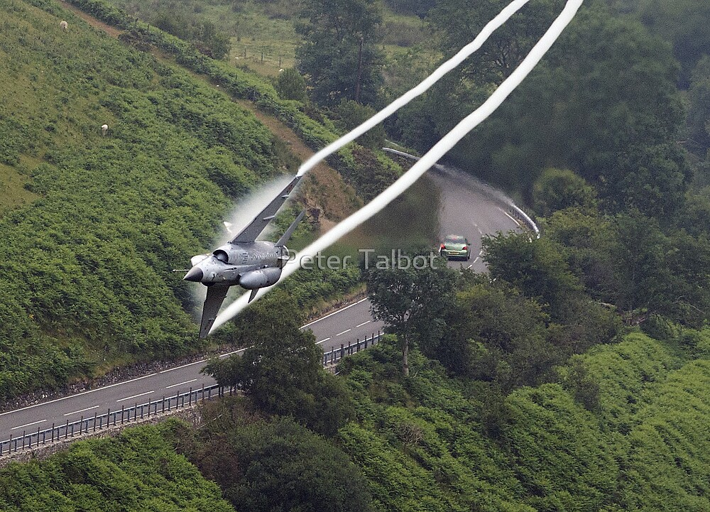 French Air Force Miage Low Flying in the Mach Loop by Peter Talbot