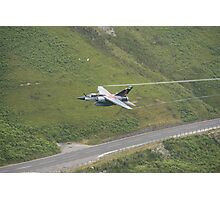 French Air Force Special Tail Mirage F1 low pass in the Mach Loop Photographic Print