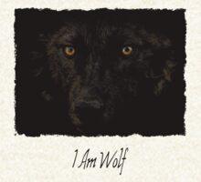 Midnights Gaze - Black Wolf Wild Animal Wildlife T-Shirt