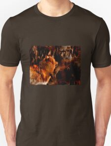 Alpha Male, Wolf Challenge, Battling Wolves T-Shirt