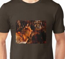 Alpha Male, Wolf Challenge, Battling Wolves Unisex T-Shirt