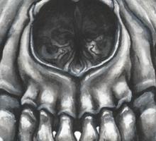 Wolf Skull (Brown) Sticker