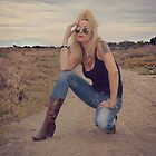 Tanya ; Saltflats ; South Corfu by fruitcake