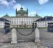 Visiting  Mary (1) = Fredensborg Palace by Larry Lingard/Davis