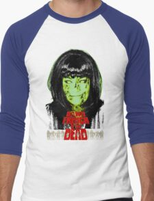 Dawn French Of The Dead Halloween T-Shirt Men's Baseball ¾ T-Shirt