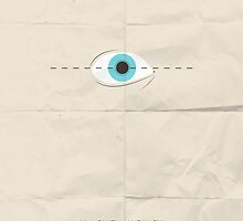 Un Chien Andalou minimalist movie poster by OurBrokenHouse