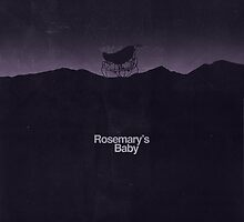 Rosemary's Baby minimalist movie poster by OurBrokenHouse