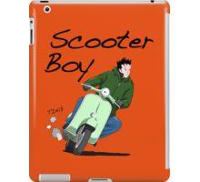 Scooter Boy Old Skool riding iPad Case/Skin