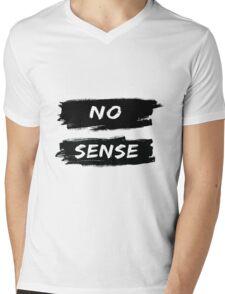 NO SENSE Mens V-Neck T-Shirt