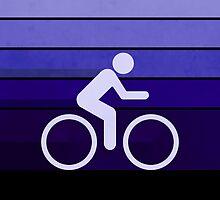 Biking Purple by Phil Perkins