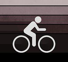 Biking Brown by Phil Perkins