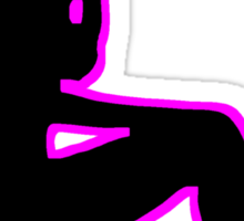 Sexy Woman Silhouette Sticker