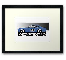 Reliant Scimitar Coupe Sprint Car Framed Print