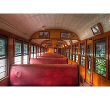 Scenic Railway Carriage Photographic Print