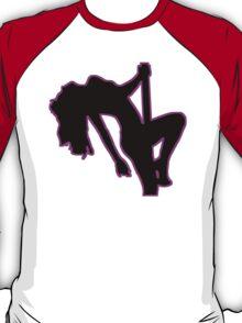 Sexy Stripper Silhouette T-Shirt