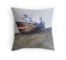 Our Georgina, North Landing, Flamborough Throw Pillow