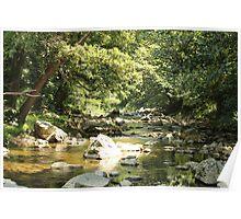 River runs slowly Poster